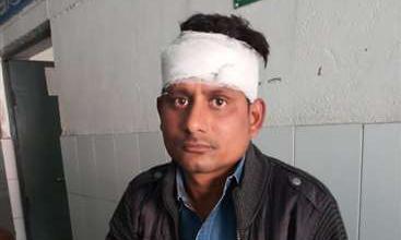 सिपाही ने डाक्टरों की टीम पर किया हमला, चालक का सिर फोड़ा