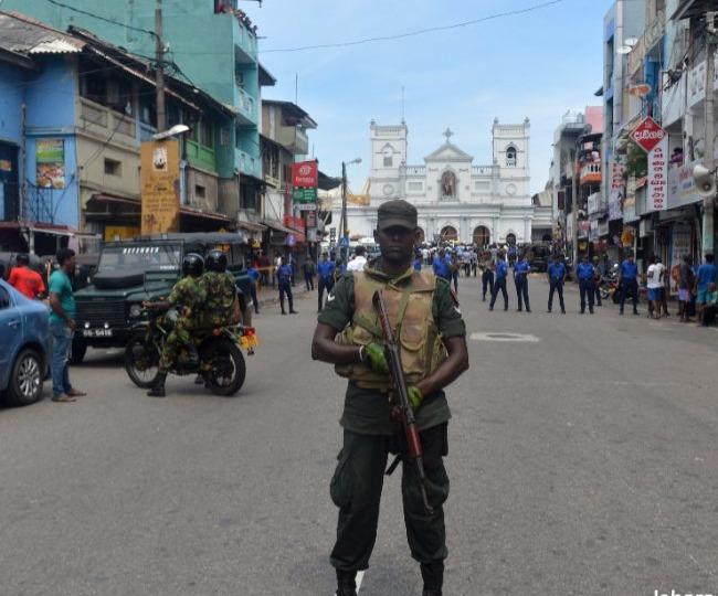 श्रीलंका ब्लास्ट: 162 लोगों की मौत और 450 से ज्यादा घायल, कर्फ्यू लगाया