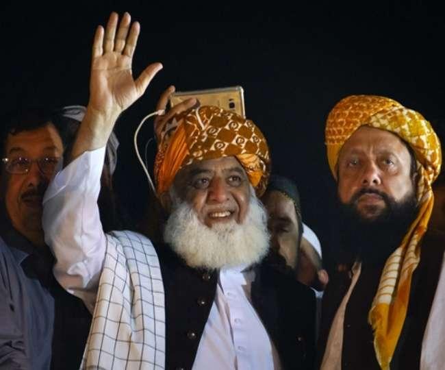 मौलाना का ऐलान, पूरे पाकिस्तान को करेंगे ठप, डरी इमरान सरकार