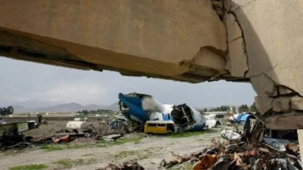 अफगानिस्तान में यात्री विमान क्रैश, 110 यात्री थे सवार
