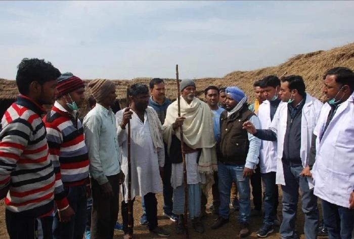 मुजफ्फरनगर : 100 से अधिक गायों की मौत, अधिकारियों में मचा हड़कंप