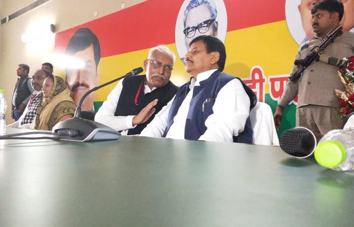 पूर्व भाजपा विधायक ने थामा शिवपाल का हाथ,  कहा- भाजपा में अब सच्चे कार्यकर्ताओं का सम्मान नहीं रहा