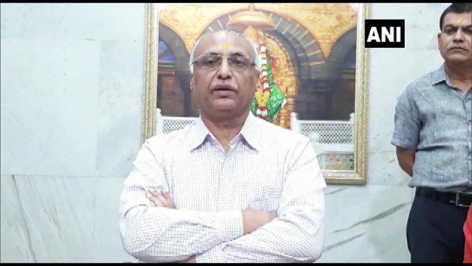 शिरडी साईं मंदिर के सीईओ दीपक मुगलीकर ने बताया, 19 जनवरी तक मंदिर बंद रहने की अफवाहें फैलाई जा रही हैं जो पूरी तरह से गलत हैं।