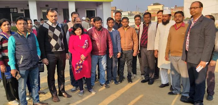 टीकाकरण के नाम पर ठगी करने वाले के विरुद्ध  चिकित्सा अधीक्षक ने दी कोतवाली में तहरीर