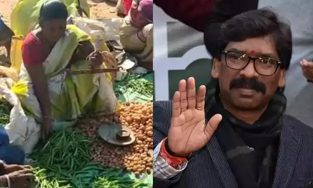 शहीद की पत्नी बेच रहीं सब्जी, मुख्यमंत्री हेमंत सोरेन ने भेजी मदद