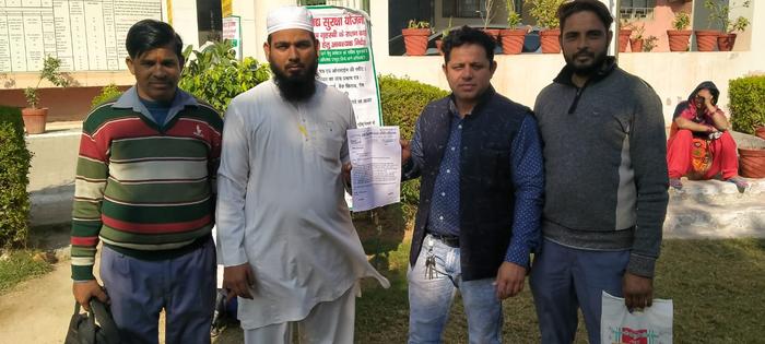 दिल्ली सहारनपुर रोड की दुर्दशा पर जिलाधिकारी को सौंपा ज्ञापन