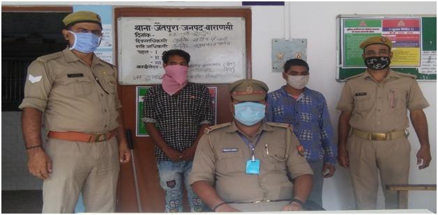 थाना जैतपुरा पुलिस टीम द्वारा दो मोबाइल चोर गिरफ्तार, कब्जे से 07 मोबाइल व एक बैट्री बरामद