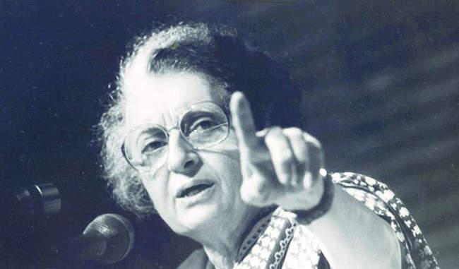 दुर्गा का अवतार :आयरन लेडी - इंदिरा गाँधी