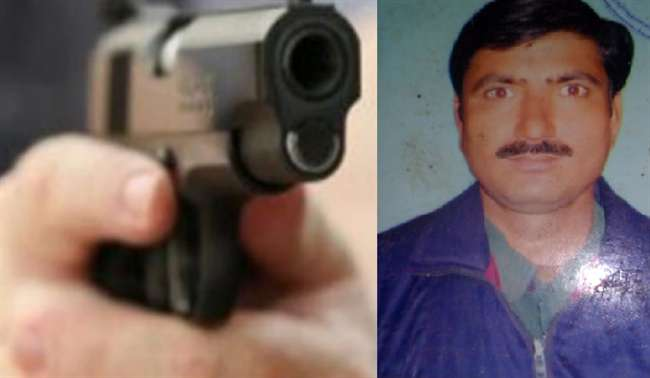 करवा चौथ पर पूजा के बाद पत्नी को पानी पिला रहे पति की गोली मारकर हत्या