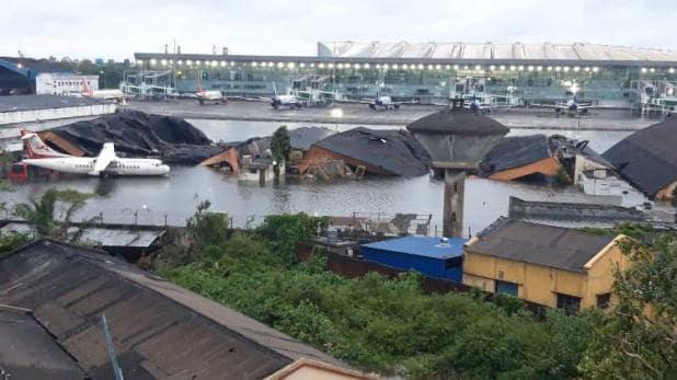 अम्फान तूफान ने कोलकाता एयरपोर्ट पर मचाई भीषण तबाही