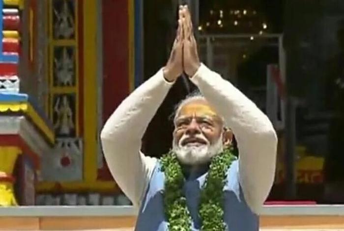 प्रधानमंत्री मोदी ने बदरीनाथ मंदिर में की विशेष पूजा-अर्चना