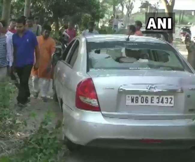 TMC कार्यकर्ताओं ने भाजपा जिलाध्यक्ष के घर में की तोड़फोड़