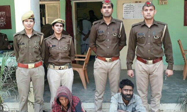 सीतापुर- बिसवां पुलिस ने 15 ग्राम स्मैक के साथ एक महिला और युवक को किया गिरफ्तार,मुखबिर की सूचना पर पुलिस ने  कस्बे से दोनों को किया गिरफ्तार।