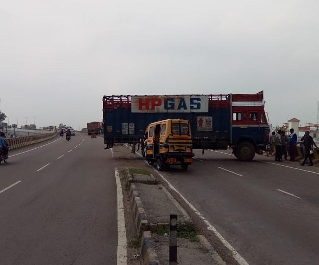 Unnao : गैस प्लांट में आग, कानपुर-लखनऊ हाइ वे पर यातायात रोका गया