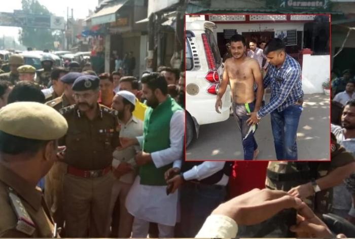 फैसले के बाद माहौल खराब करने की कोशिश, बागपत में युवक का हंगामा, मेरठ में चार गिरफ्तार