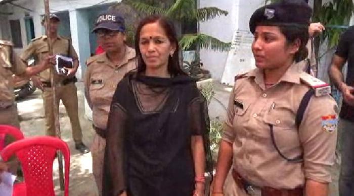 सेक्स रैकेट में साल भर से फरार चल रही भाजपा नेत्री गिरफ्तार